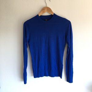 NWOT Talula long sleeve crewneck silk sweater